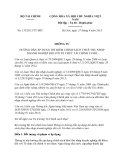 Thông tư 135/2013/TT-BTC