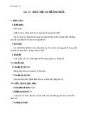 Giáo án Hóa học 10 bài 15: Hóa trị và số oxi hóa