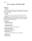 Giáo án Hóa học 10 bài 16: Luyện tập liên kết hóa học