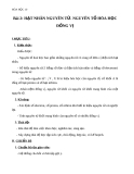 Giáo án Hóa học 10 bài 2: Hạt nhân nguyên tử - nguyên tố hóa học - đồng vị