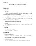 Giáo án Hóa học 10 bài 4: Cấu tạo vỏ nguyên tử