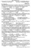 Đề thi khảo sát chất lượng Hóa học lớp 12 dự thi Đại học 2014 - Trường THPT Chuyên KHTN
