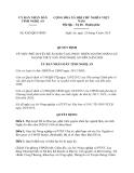 Quyết định 4263/QĐ-UBND năm 2013