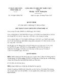 Quyết định 141/QĐ-UBND TM