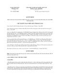 Quyết định 1102/QĐ-UBND năm 2013