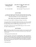 Quyết định 1526/QĐ-UBND năm 2013