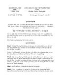 Quyết định 2995/QĐ-BVHTTDL
