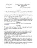 Văn bản hợp nhất 16/NĐHN-BQP năm 2013