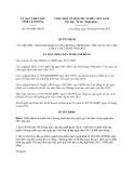 Quyết định 1851/QĐ-UBND