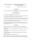 Quyết định 1612/QĐ-TTg năm 2013