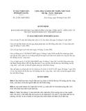 Quyết định 23/2013/QĐ-UBND tỉnh Kiên Giang