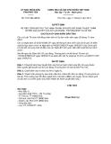 Quyết định 1541/QĐ-UBND năm 2013