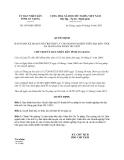 Quyết định 1891/QĐ-UBND năm 2013