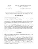 Quyết định 3516/QĐ-BYT năm 2013