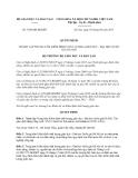 Quyết định 3568/QĐ-BGDĐT năm 2013
