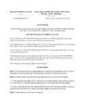 Quyết định 2808/QĐ-BGTVT năm 2013