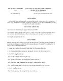 Quyết định 1568/QĐ-TTg năm 2013