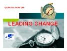 Tiểu luận: Quản trị sự thay đổi
