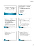 Bài giảng Kỹ năng đàm phán và những điều lưu ý trong việc đàm phán hợp đồng thương mại quốc tế - Trần Hồng Hải