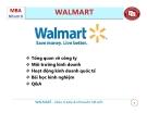 Tiểu luận: Tìm hiểu chiến lược kinh doanh Walmart