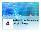 Tiểu luận: Organization Transformation Strategic Change