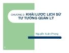 Bài giảng Khoa học quản lý: Chương 2 - Nguyễn Xuân Phong