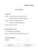 Giáo án Hình học 7 chương 1 bài 1: Hai góc đối đỉnh