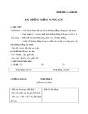 Giáo án Hình học 7 chương 1 bài 2: Hai đường thẳng vuông góc