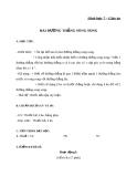 Giáo án Hình học 7 chương 1 bài 4: Hai đường thẳng song song