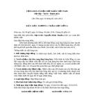 Biên bản thương thảo hợp đồng