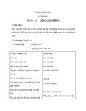 Bài Kể chuyện: Giọng quê hương - Giáo án Tiếng việt 3 - GV.Hoàng Thi Thơ