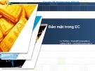 Chuyên đề thương mại điện tử: Bảo mật trong EC