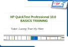 HP QuickTest Professional 10.0 basics training - Luong Tran Hy Hien