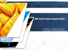 Chuyên đề thương mại điện tử: Mô hình kinh doanh B2C