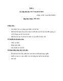 Tiết 3: Tập đọc nhạc: TĐN số 1 - Giáo án Âm nhạc 5 - GV:Đ.H.Thủy