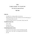 Giáo án Âm nhạc 5 tiết 8: Ôn tập bài hát: Hãy giữ cho em bầu trời xanh
