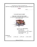 SKKN: Giúp học sinh lớp 9 phát hiện và tránh sai lầm trong khi giải toán về căn bậc hai