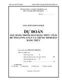 SKKN: Dự đoán dấu bằng trong bất đẳng thức Cô-si để tìm GTLN, GTNN và chứng minh bất đẳng thức