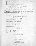 Bài tập Thủy lực và máy thủy lực: Phần 4