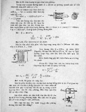 Bài tập Thủy lực và máy thủy lực: Phần 5