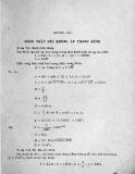 Bài tập Thủy lực và máy thủy lực: Phần 7