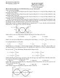 Đề thi thử môn Vật lý - Bộ GD&ĐT khối A đề số 4