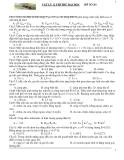 Đề thi thử ĐH môn Vật lý khối A đề số 26