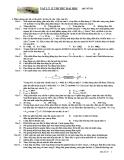Đề thi thử ĐH môn Vật lý khối A đề số 29
