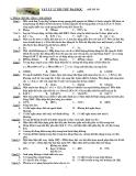 Đề thi thử ĐH môn Vật lý khối A đề số 18