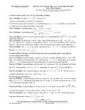Đề KTCL ôn thi ĐH môn Toán - THPT Chuyên Vĩnh Phúc lần 1 (2013-2014) khối D