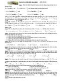 Đề thi thử ĐH môn Vật lý khối A đề số 10