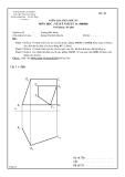 Đề kiểm tra giữa học kỳ môn Vẽ kỹ thuật 1A - ĐHBK