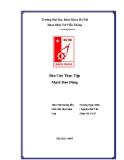Báo cáo thực tập Mạch dao động - ĐHBK Hà Nội