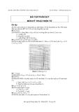 Bài tập phần BJT môn Kỹ thuật điện tử - Lê Chí Thông